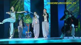 First rehearsal of the Princesses from Georgia - Kyiv 2009