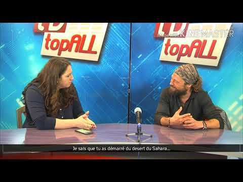 Interview on TV TopAll, in Romania, with french subtitles.