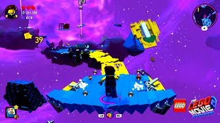 THE LEGO MOVIE 2 VIDEOGAME - Asteroid Field Gameplay (Velociraptors in Space, LOL!) / Видео