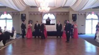 Katie & Rob's Elegant Crowne Plaza Cherry Hill Reception