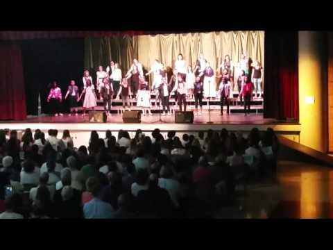 Grease, MOUNTAIN SKY MIDDLE School, women's choir
