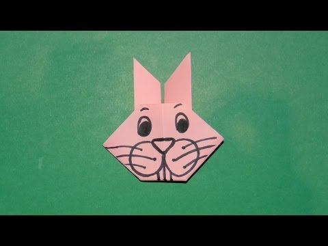 Bunny Corner Bookmark (Easter Craft For Kids) - The Printables Fairy | 360x480