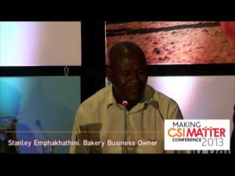 Plenary Session: Stanley Emphakhathini