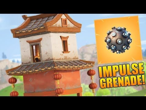 NEW IMPULSE GRENADE, LOCATIONS & UPDATE! - 900+ Wins - Level 100 - Fortnite Battle Royale Gameplay