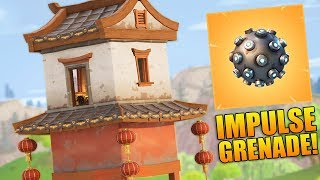 NEW IMPULSE GRENADE, LOCATIONS & UPDATE! - 900+ Wins - Level 100 - Fortnite Battle Royale Gameplay