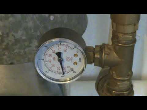 давление в системе отопления