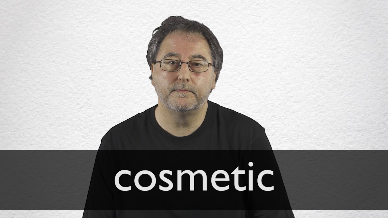 "French Translation of ""cosmetic"" 