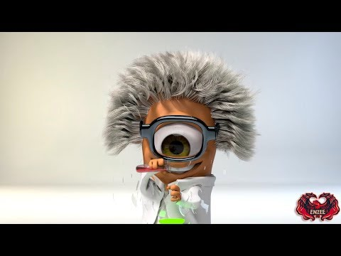 Free Sony Vegas Intro Template #110 : Funny Scientist Intro Template for Sony Vegas