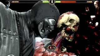 Mortal Kombat Komplete Zombies! PC Gameplay Ultra High Brains :D
