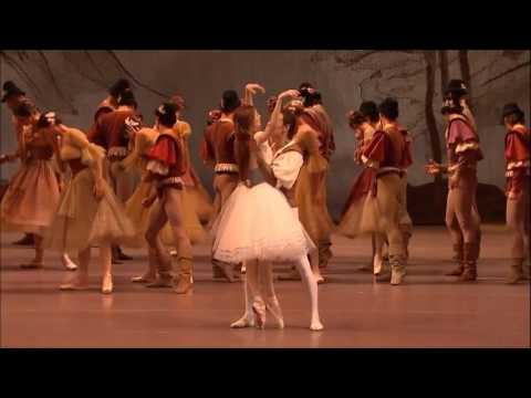 Светлана Захарова, Сергей Полунин в балете Жизель монтаж