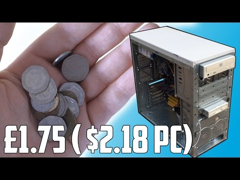 "The ""Pocket Change"" $2 PC Build"
