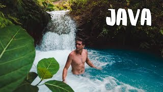 MOST BEAUTIFUL WATERFALL in INDONESIA - JAVA Part II