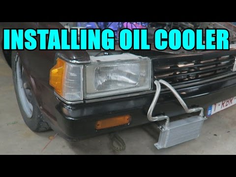 GETTING A SICK OIL COOLER