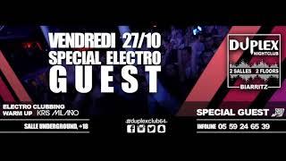 Damien N Drix 27cotobre2017 Duplex Nightclub Biarritz