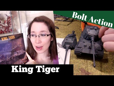 Bolt Action King Tiger - Speed Assembly & WWII History