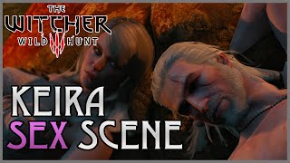 The Witcher 3 Wild Hunt - Keira Metz Dinner & Sex Scene on the Beach (Friends with Benefits)