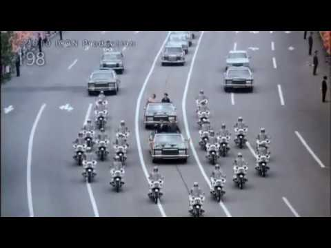 Ceausescu visit in Pyongyang (20 may 1978)