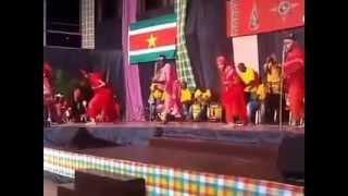 Naks Wan Rutu- INGI winti on stage