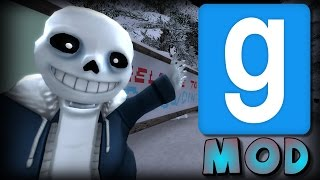 Garry's Mod: Undertale Sans Abilities Mod Showcase