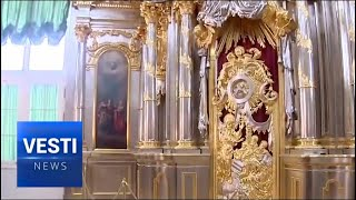 Burned Iconostasis Miraculously Restored: New Icons Put Back on Display After Almost a Century