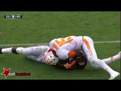 Joshua Dobbs (Tennessee QB) vs Alabama 2015