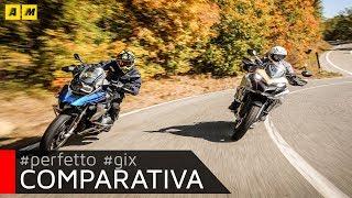 BMW R1200GS Rallye VS Ducati Multistrada Enduro PRO [ENGLISH SUB] thumbnail