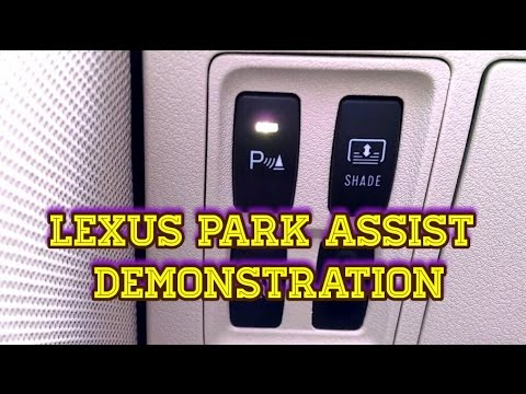 Lexus ES350 Park Assist Explanation