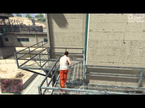 GTA Online Heists Co-op gameplay pt10 - The Prison Break: Take 2 (New Recruit)