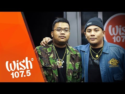 Droppout and Rhyne perform Medyo Busy Lang LIVE on Wish 107.