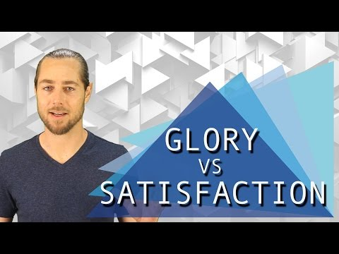 Glory Vs. Satisfaction: Cultivating Emotional Wellness in a Competitive Society