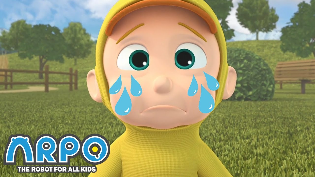 Duckling and Baby Daniel RIVALRY - ARPO the Robot | 에피소드를보고 | Cartoons for Kids | Robot Animation
