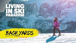 Qu'est-ce que c'est de vivre au paradis du ski   Red Bull Backyards avec Arianna Tricomi