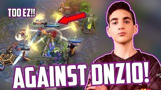 WINNING AGAINST DNZIO!! [VAINGLORY 5v5] THIS WAS WAY TOO EZ! KAPPA (RANKED GAMEPLAY)