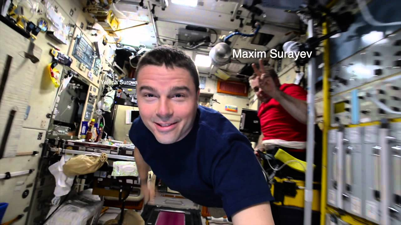 Inside the ISS - 18,000 M.P.H. with Reid Wiseman - YouTube
