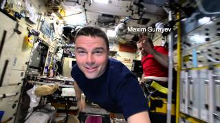 Inside the ISS - 18,000 M.P.H. with Reid Wiseman