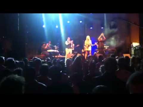 Candy Dulfer at Aruba Sea Jazz Festival together with Printz Board