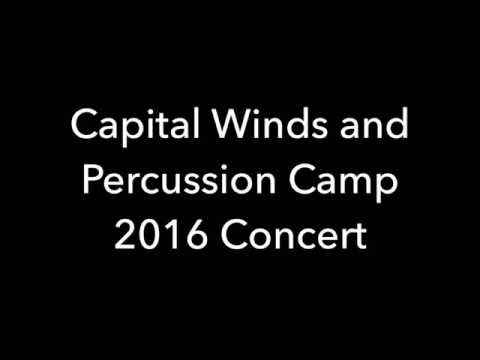 Capital Winds and Percussion Camp 2016