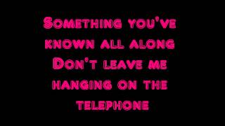Gambar cover Hanging on The Telephone- Blondie