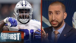 Cris and Nick react to Zeke's performance in Cowboys Week 4 win | NFL | FIRST THINGS FIRST
