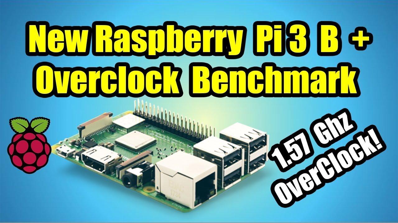 Raspberry pi 3 model b overclock settings