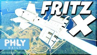 FRITZ-X Guided BOMB | ANTI Anything Glide Bomb (War Thunder 1.79 Gameplay)