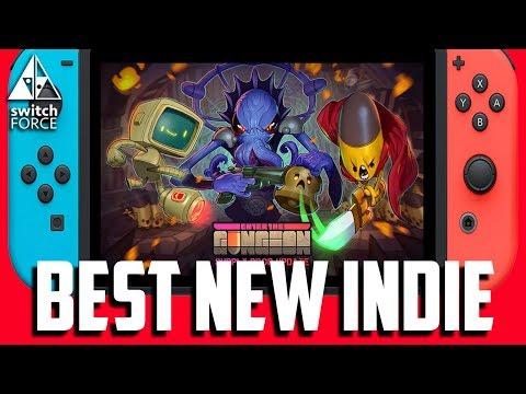 BEST NEW INDIE - Enter The Gungeon Switch Gameplay + Impressions