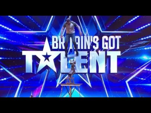 Sacsha Williams: NEAR-DEATH Acrobatic Act!   Britain's Got Talent 2018