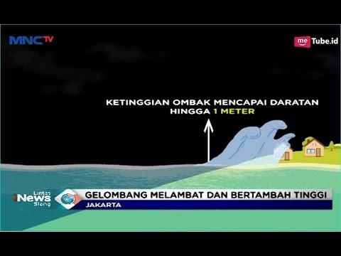 Berikut Kronologis Terjadinya Tsunami Selat Sunda Akibat Aktifitas Anak Krakatau - LIS 24/12