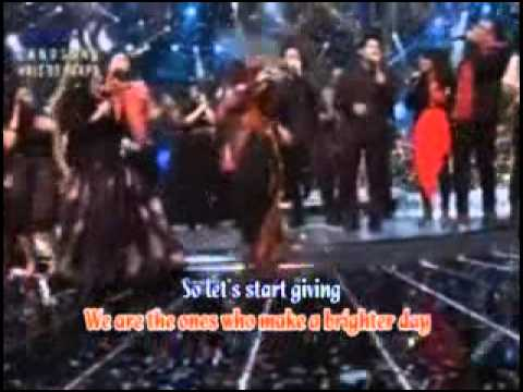 We Are The World   Lirik   lagu penutup x factor Indonesia