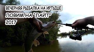 Вечерняя рыбалка на Иртыше | Ловим на
