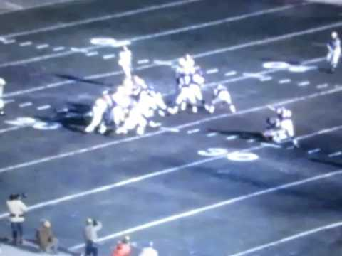 NFL Championship 1969 Scoring Clips Vikings vs Browns No Sound