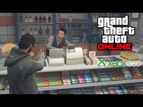 GTA: Online (Xbox 360) Random Gameplay [1080p]