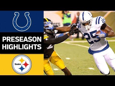 Colts vs. Steelers   NFL Preseason Week 3 Game Highlights