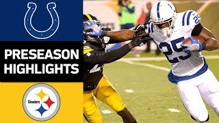 Colts vs. Steelers | NFL Preseason Week 3 Game Highlights
